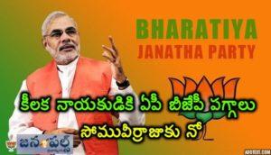 Key leader for AP BJP president
