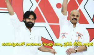 Nagababu win Narsapuram MP Ticket