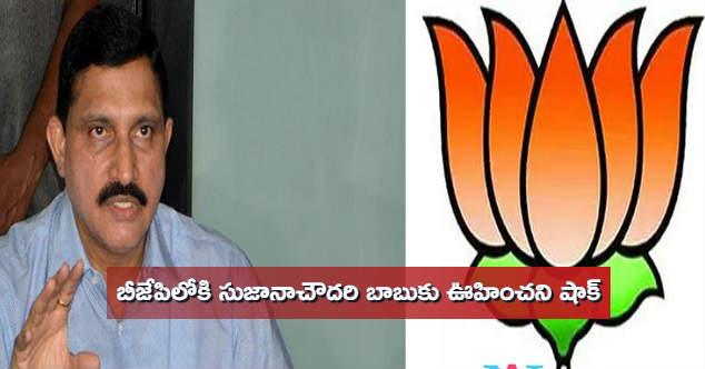 Sujana Chowdary joinig to BJP