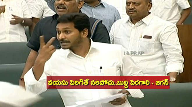 CM Jagan sensational comments on AP Assembly