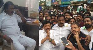 Rapaka Varaprasad over police over arrest of MLA