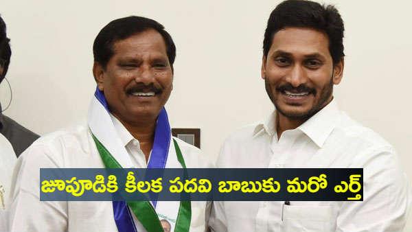 Jupudi prabhakar rao joined YSRCP
