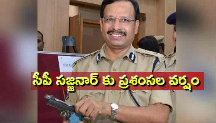 Disa encounter case congratulate to Sajjanar IPS