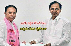 CM KCR elected rajya sabha member to Suresh reddy